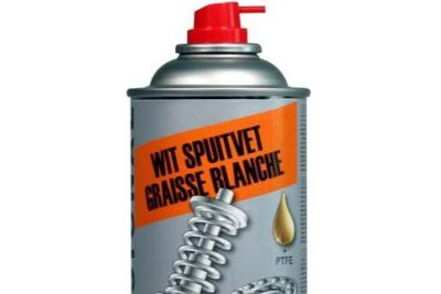 MoTip Spuitvet, wit 400ml (8000103)